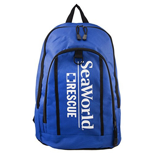 SeaWorld Rescue Blue Back Pack