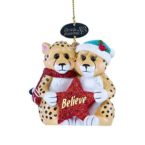 Cheetah Mates Ornament