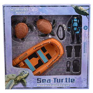 Sea Turtle Research and Rescue Playset