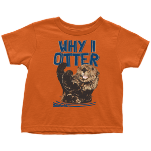 SeaWorld Why I Otter Toddler Tee