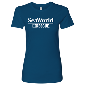 SeaWorld Rescue Logo Ladies Tee