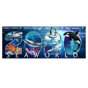 SeaWorld 2020 Dated Shot Glass