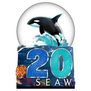 SeaWorld 2020 Dated Waterglobe