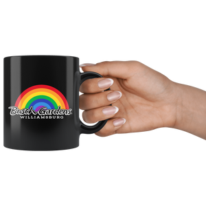 Busch Gardens Williamsburg Arched Rainbow Mug