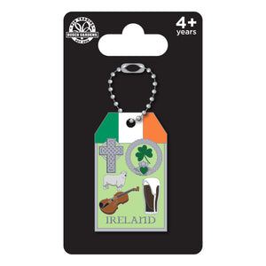 Busch Gardens Williamsburg Luggage Tag Ireland Pin