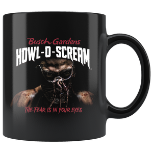Busch Gardens Howl-O-Scream Billboard Mug