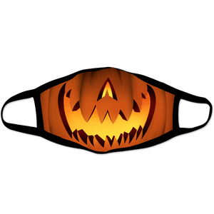 Jack O Lantern Adult Face Mask