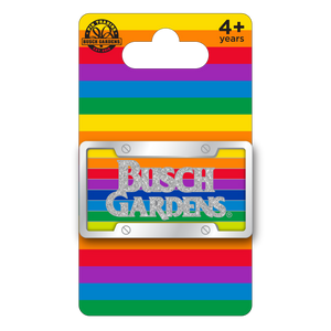 Busch Gardens License Plate Pin