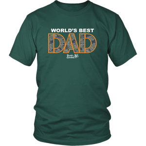 Busch Gardens World's Best Dad Camo Tee