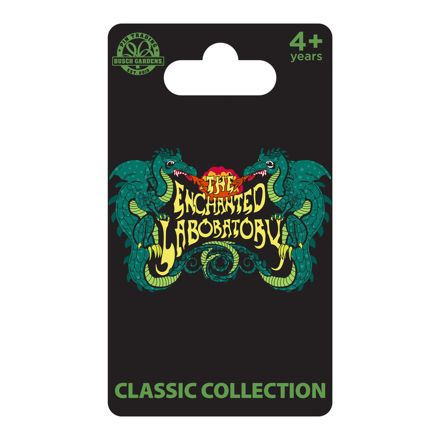 Busch Gardens Williamsburg CC Enchanted Laboratory Pin