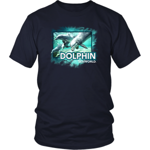 SeaWorld Dolphin Photo Tee