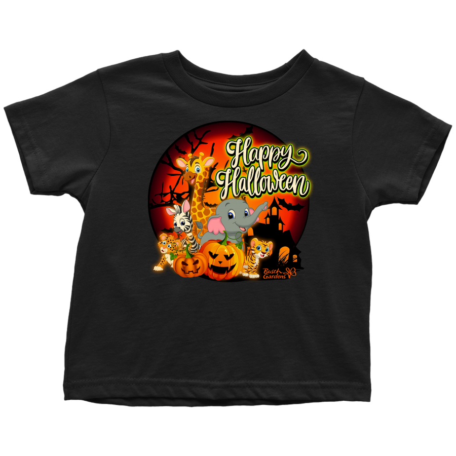 Busch Gardens Happy Halloween Toddler Tee