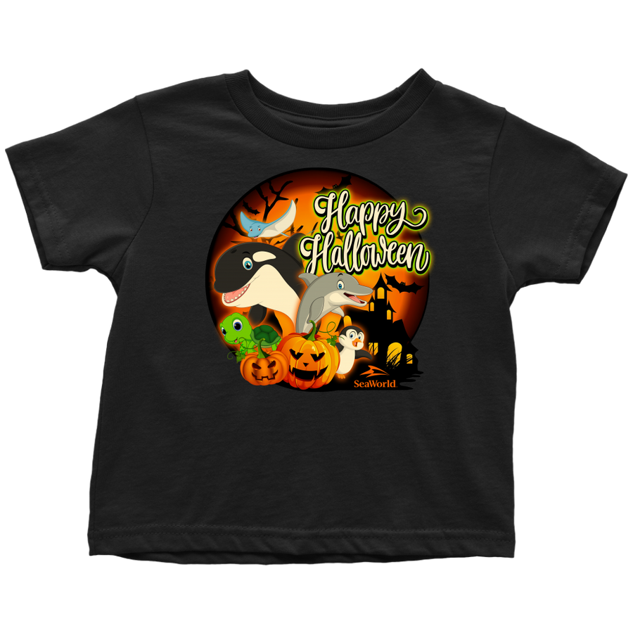 SeaWorld Happy Halloween Youth Tee