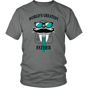 SeaWorld World's Greatest Father Walrus Tee