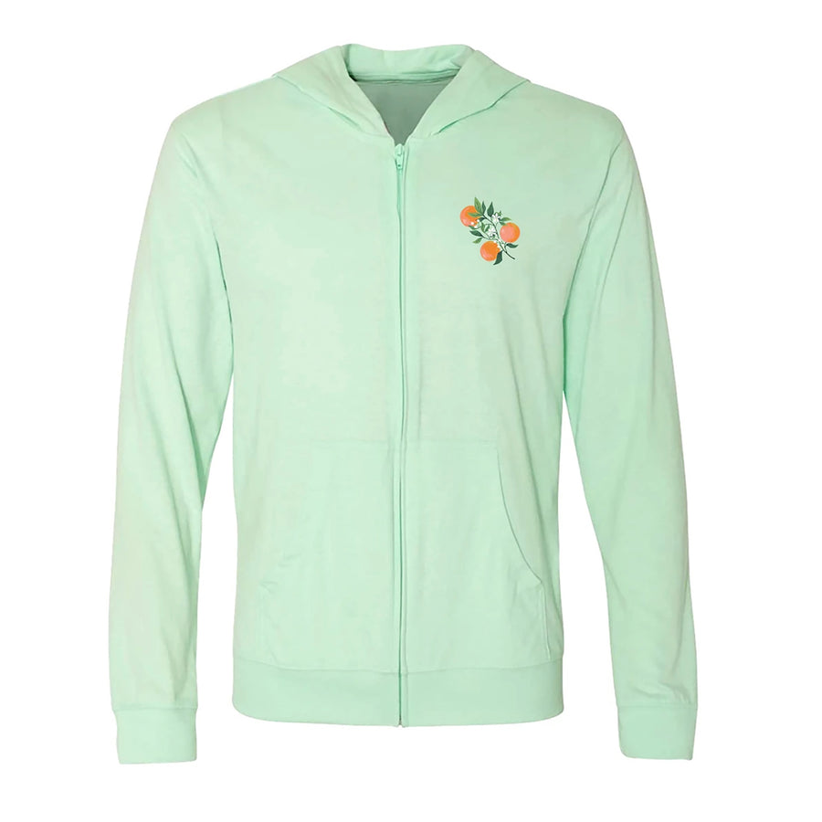 SeaWorld Florida Local Mint Adult Zip Hoodie