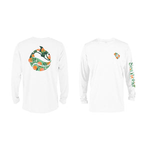 SeaWorld Florida Local White Adult Long Sleeve Tee