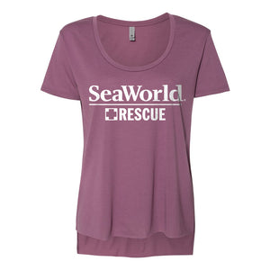 SeaWorld Rescue Ladies Tee - Pink