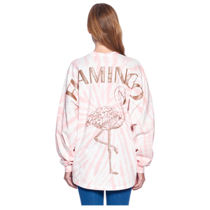 Spirit Jersey® & SeaWorld Flamingo Coral Tie-Dye ADULT