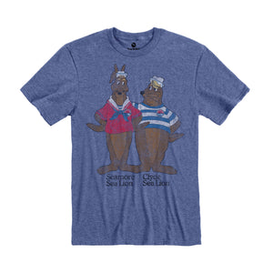 SeaWorld Retro Clyde & Seamore Adult Tee