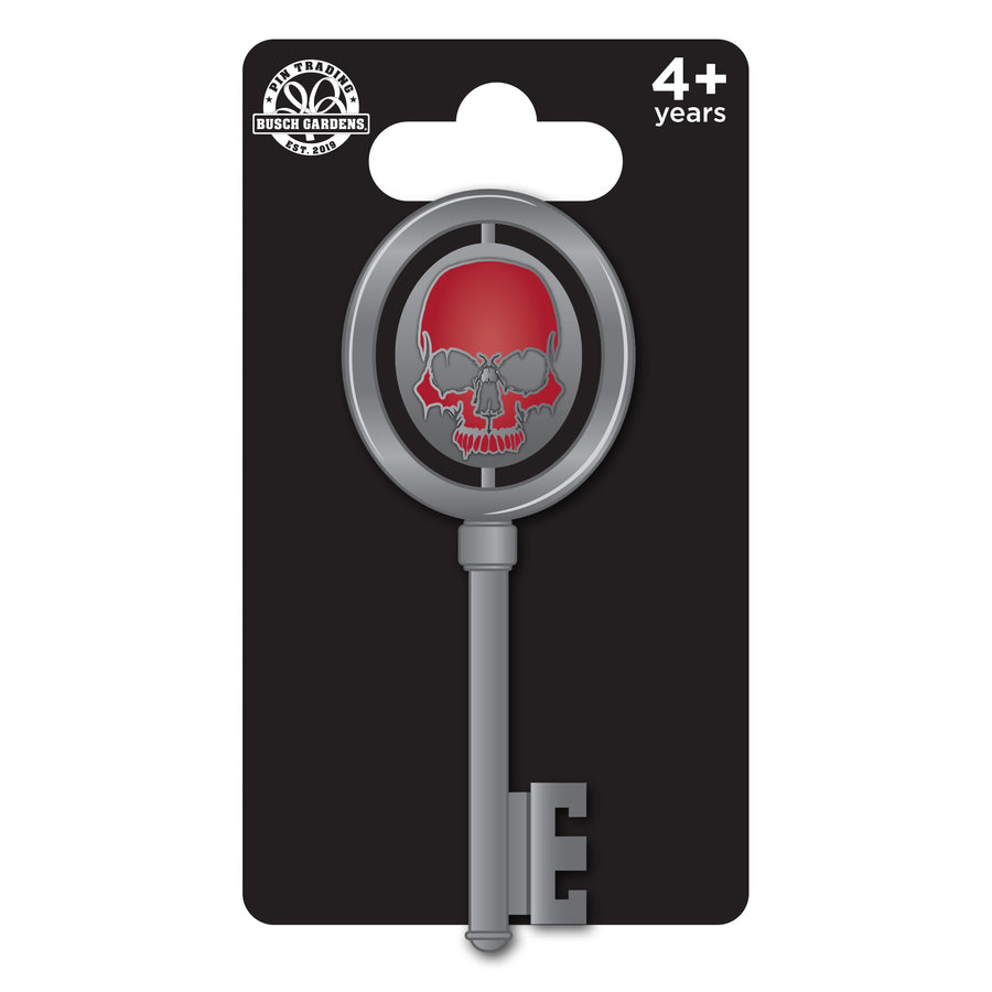 Howl-O-Scream Spinning Logo Key Pin