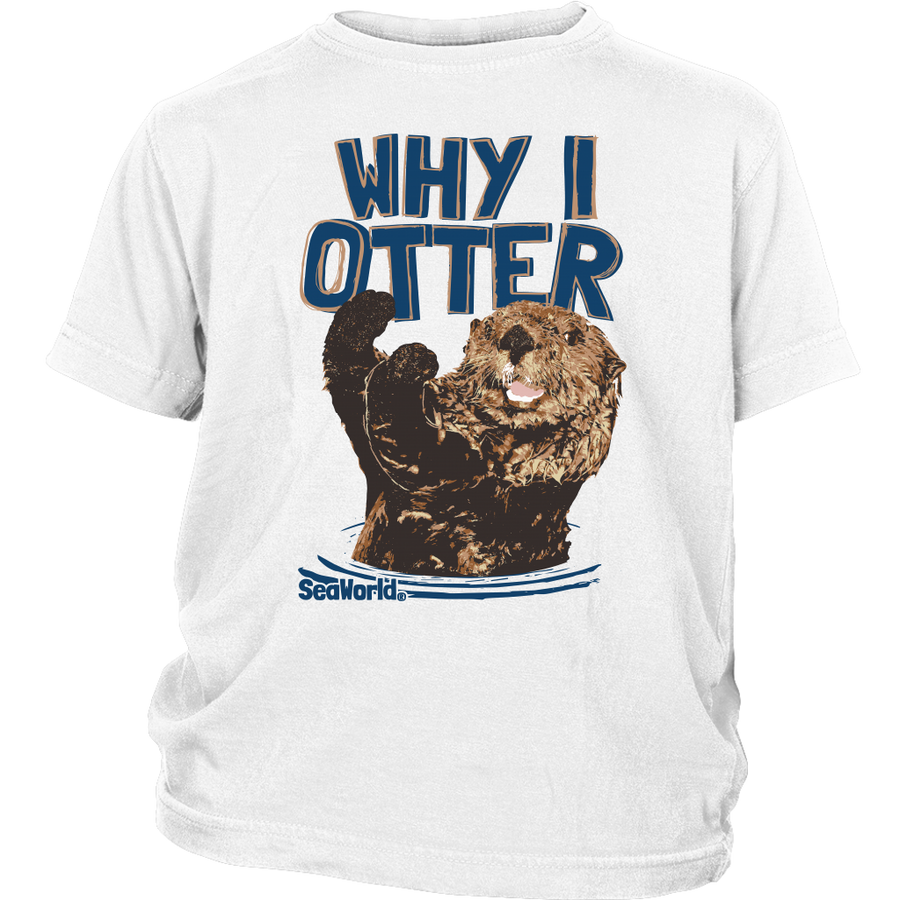 SeaWorld Why I Otter Youth Tee