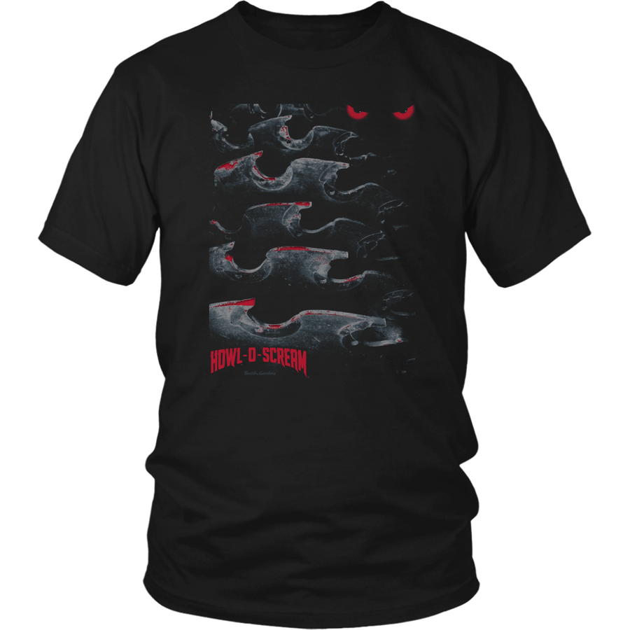 Busch Gardens Howl-O-Scream Blades Watching Adult Tee