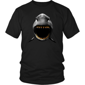 SeaWorld Shark Candy Corn Teeth Adult Tee