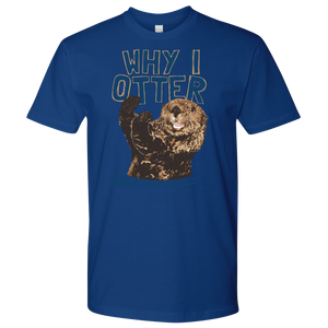 SeaWorld Why I Otter Tee