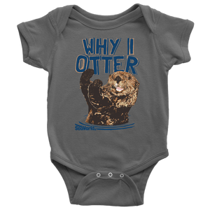 SeaWorld Why I Otter Onesie