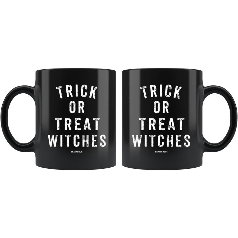 SeaWorld Trick Or Treat Witches Mug