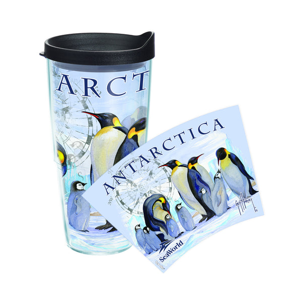 SeaWorld Exclusive Guy Harvey Antarctica Tervis Tumbler