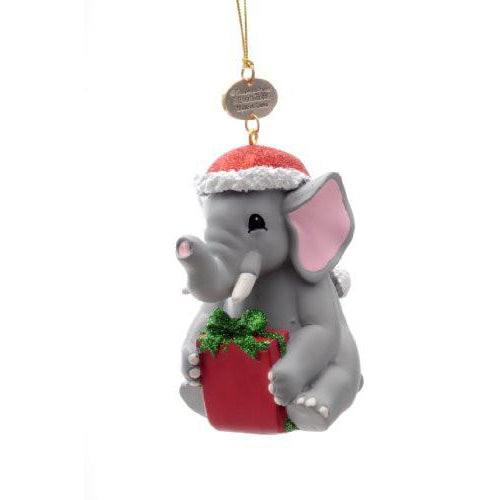 Elephant Resin Ornament