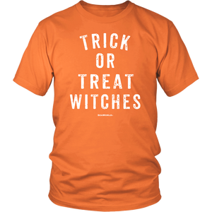 SeaWorld Trick Or Treat Witches Adult Tee
