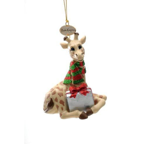 Giraffe Resin Ornament