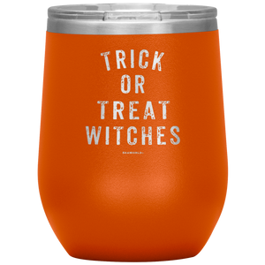 SeaWorld Trick Or Treat Witches Wine Tumbler