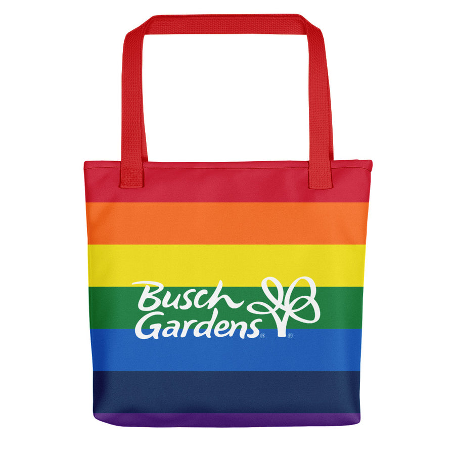 Busch Gardens Rainbow Stripe Tote Bag