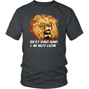 Busch Gardens Best Dad Lion Tee