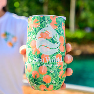 SeaWorld Local Wine Tumbler -16 oz.