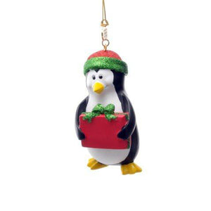 Penguin Resin Ornament