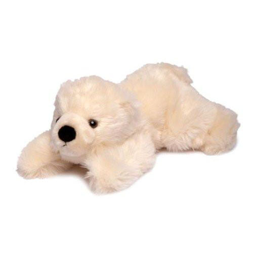 Slushy Polar Bear Plush 11""