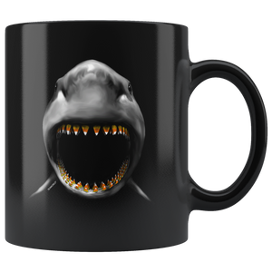SeaWorld Shark Candy Corn Teeth Mug