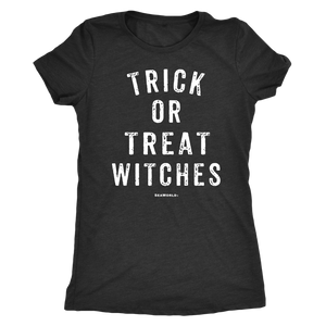 SeaWorld Trick Or Treat Witches Ladies Tee