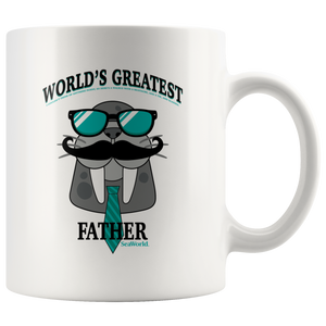 SeaWorld Worlds Greatest Father Walrus Mug