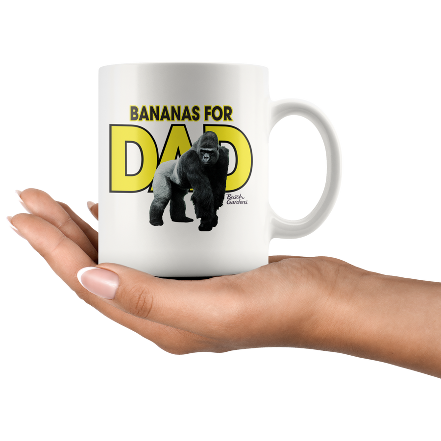 Busch Gardens Bananas for Dad Mug