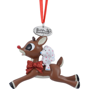 Busch Gardens Rudolph with Misfit Elephant Ornament