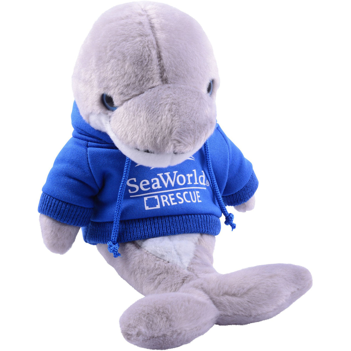 Sea Rescue Dolphin with Hoodie Plush 8""