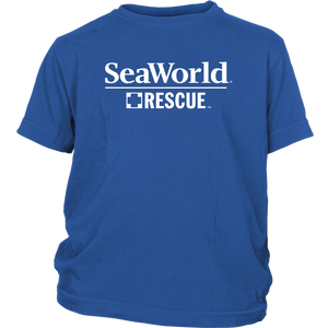 SeaWorld Rescue Logo Youth Tee