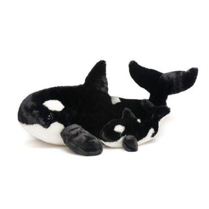 Whale and Baby Plush Set