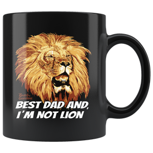Busch Gardens Best Dad Lion Mug