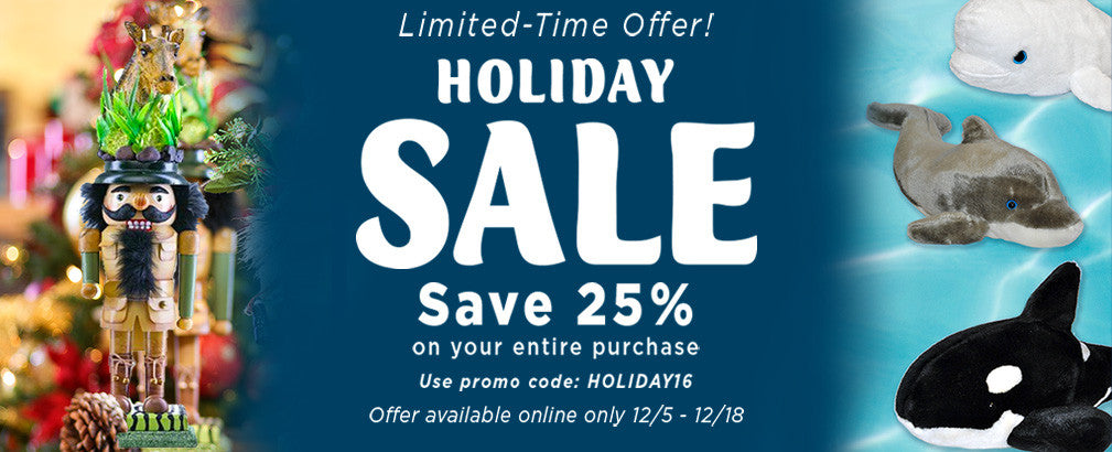 Holiday Sale - Save 25%